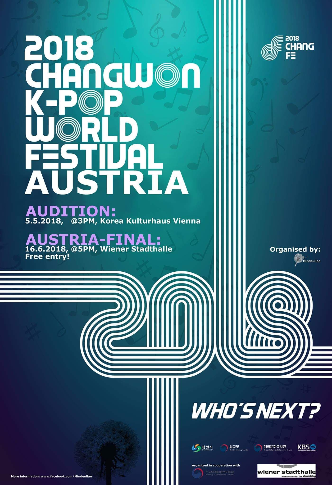 5th K-Pop World Festival Austria